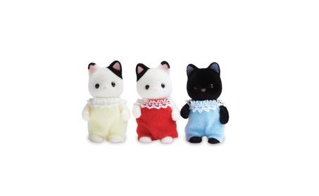 Calico Critters Tuxedo Cat Triplets 5917fc4e-1546-4e8d-8ba9-bc874e30de6e