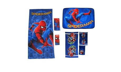 Marvel Shower Curtain, Bath Mat & Towel Sets 74b7c5f2-60dd-41d4-ab65-7f66cf7b2f7d