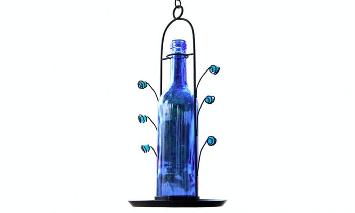 Up To 12 Off On Wine Bottle Bird Seed Feeder