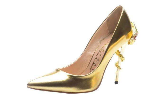 Women's Slip on Casual High Heels ladies shoes