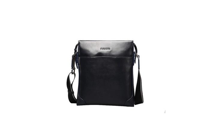 Men's No Handle Crossbody Bag
