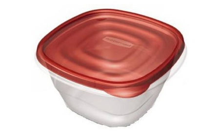 Rubbermaid 4 Piece Take Alongs Deep Square Containers 7F54RETCHIL 1ebc8712-1a5d-4191-95f8-8a3cf51b36b7