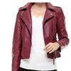 Women's Faux Leather Fashion Plus Size Slim Fit Coat