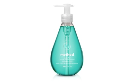 Method Naturally Derived Gel Hand Wash, Waterfall, 12 Ounce Pack of 6 9f179dd4-0442-43a8-be6f-ef3c0836456d