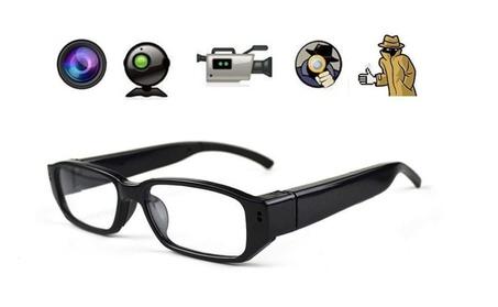 Video Recorder Glasses Spy Camera Eyewear Camcorder Eyeglass+8GB card e25af993-15dc-441c-a386-3460e56abae3