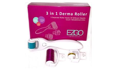 3 In 1 Derma Roller Set 0.5mm, 1.0mm, 1.5mm Micro Needles 92704be0-e401-4ec4-aec8-666e8c2953a3