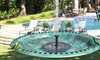 Solar Powered Floating Pump Water Fountain Birdbath Home Pool Standing Floating