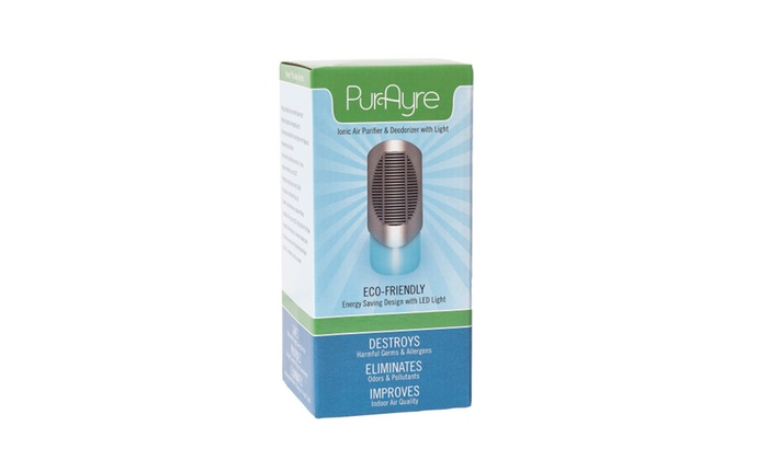 PURAYRE Compact Plug In Ionic Air Purifier & Deodorizer Works!