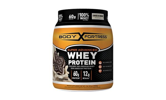 Body Fortress Super Advanced Whey Protein Powder - 2lbs