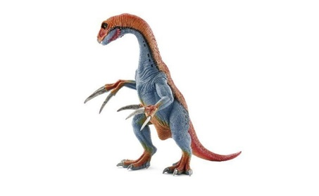 Schleich North America 216371 Therizinosaurus Toy Figure, Red & Blue d7733a67-5fde-4833-8116-0d45fc4268e4