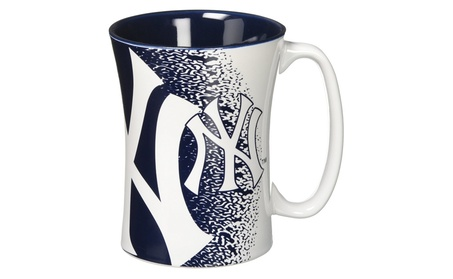 New York Yankees Coffee Mug - 14 oz Mocha 49d44b80-4934-4589-97c8-d9eb66fb22ed