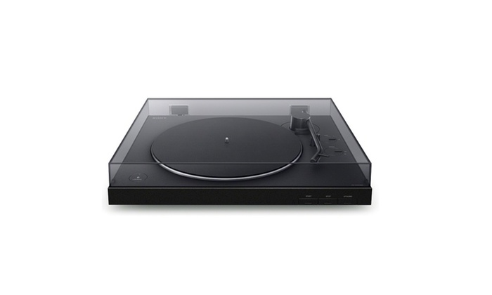 Sony PS-LX310BT Wireless Turntable with Bluetooth Connectivity Bundle Includes Vinyl Record Cleaning Kit /& Vinyl Brush Cleaner