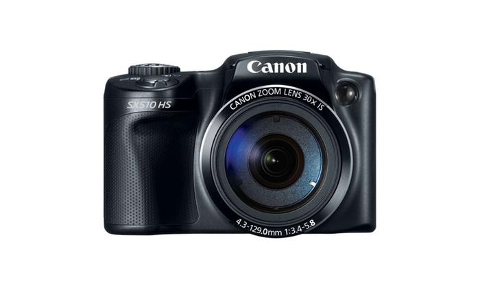 Canon PowerShot SX510 HS 12.1 MP Digital Camera in Black