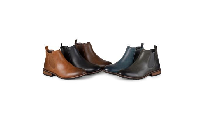 f51e999a4be Vance Co. Mens Wide Width Landon Boot