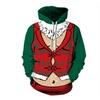 Funny Cute Ugly Christmas Pullover Hoodie Sweatshirt
