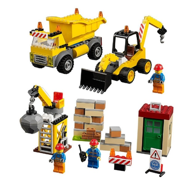 Lego Juniors Demolition Site 10734 Toy For 4 Year Olds Groupon