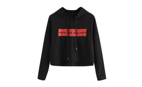 Letter Hoodies Sweatshirt Crop Tops Woman Sweatshirt Long Sleeve 4d6ec75f-77f6-4bbb-892a-babb5f53914f