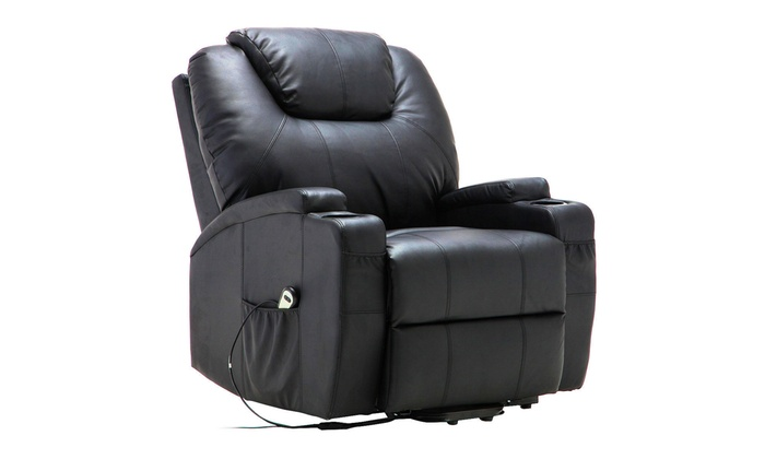 Electric Lift Power Recliner Chair Heated Massage Sofa Lounge W