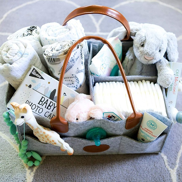 Baby Diaper Caddy Organizer