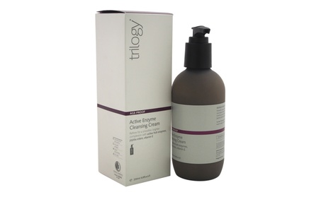 Age Proof Active Enzyme Cleansing Cream by Trilogy for Unisex - 6.8 oz 478a059d-5b78-48c7-abc1-bf0aa6bfa707
