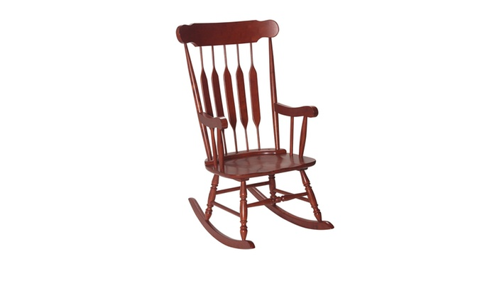 ... Adult Rocking Chair Cherry Finish