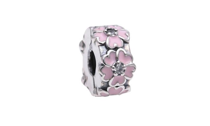 LINDA GOTHARD: PANDORA Pink Primrose Clip 791823EN68