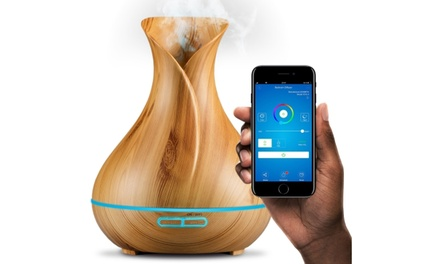 Sierra Modern Home Wi-Fi Smart Diffuser Compatible with Alexa and Google Home