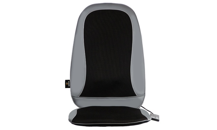 massage pad for chair. gideon shiatsu deep kneading massage chair pad cushion with heat for
