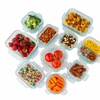 Glass Food Container 20-Piece Set