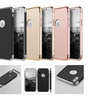Rubberized Protective Griptech 3-Piece Case Chrome Frame for iPhone X