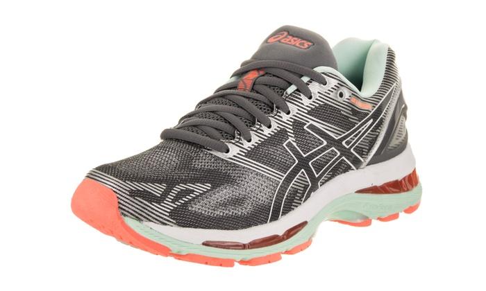 Asics Women's Gel Nimbus 19 (2A) Narrow Running Shoe Groupon  Groupon