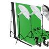 Photography Umbrella Lighting Kit Studio With Backdrop Stand