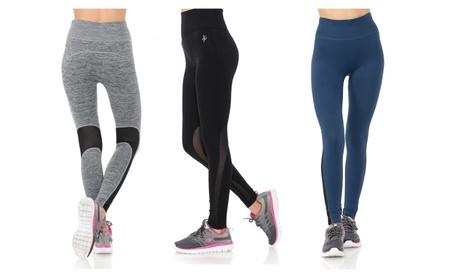 Active Leggings with Power Mesh lace 3 Pack Deal 18de430d-e51c-4586-80f0-8f4d6dd91d90