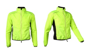 Reflective Bicycle Wind Jacket