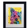 Dean Russo 'York I' Matted Black Framed Art