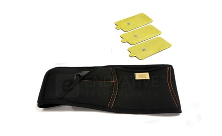 Smart Relief Massage Workout Belt + 3 Jumbo Pads