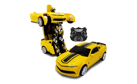 Kids RC Car Toy Transforming Robot Remote Control Vehicle