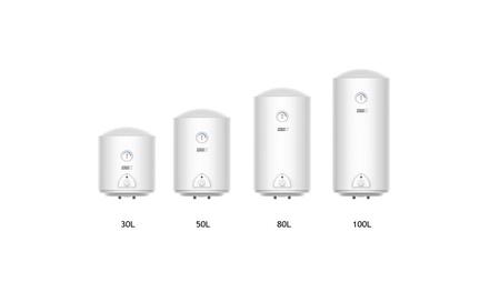 Calentador de agua eléctrico de 30, 50, 80 u 100 litros