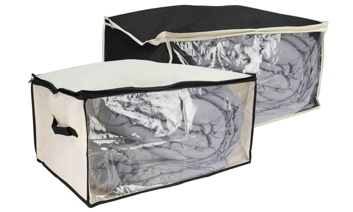 6d3c94a014c0 Sunbeam Under-the-Bed Storage Box with Clear Panel | Groupon