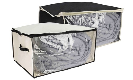 Sunbeam Under-the-Bed Storage Box with Clear Panel photo