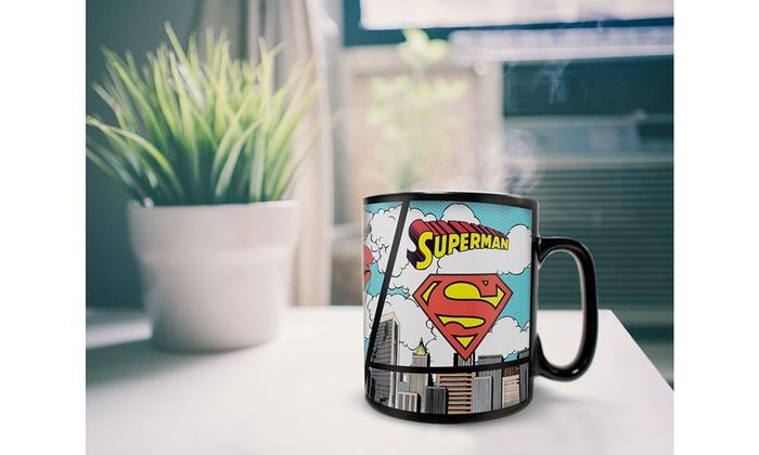 Official DC Comics Superman Ceramic Travel Thermal Mug Great Gift