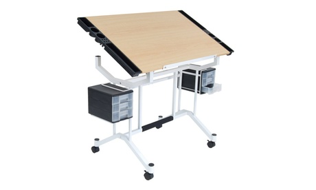 Pro Craft Station White / Maple in UPS Box 3cde7a4b-3545-48a1-9dab-70f9ab63881b