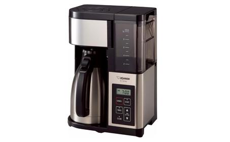Zojirushi Fresh Brew Plus Thermal Carafe Coffee Maker, 10 Cup - Black bf12665c-a01f-471f-8f9e-916e128047d7