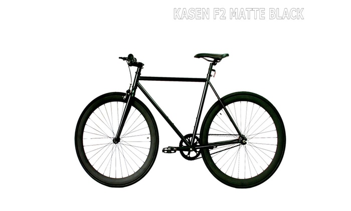 Fixie Bike Single Gear Bike fixie bike matte black unisex 700c