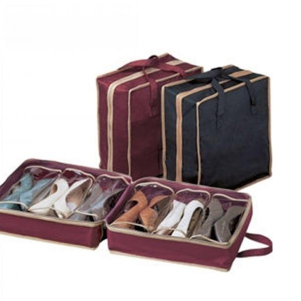 78760686de3ae Travel Shoes Bag Hanging Shoe Travel Bag Organizer Storage Bag