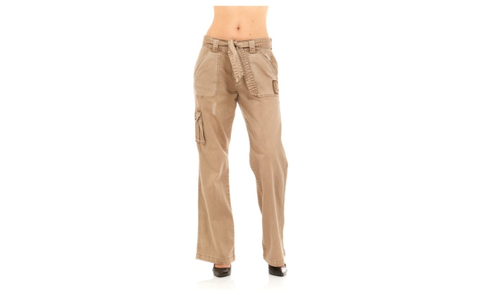 53db27bac223a Women Military Army Fatigue Camo Pants by Red Jeans   Groupon