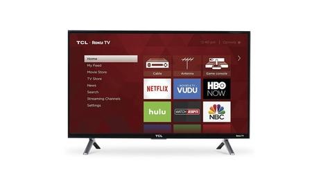 "TCL 49"" 4K Ultra HD 120Hz HDR Roku Smart TV, 3 HDMI/1 USB Ports & WiFi"