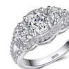 925 Sterling Silver Zirconia Wedding Rings for Women