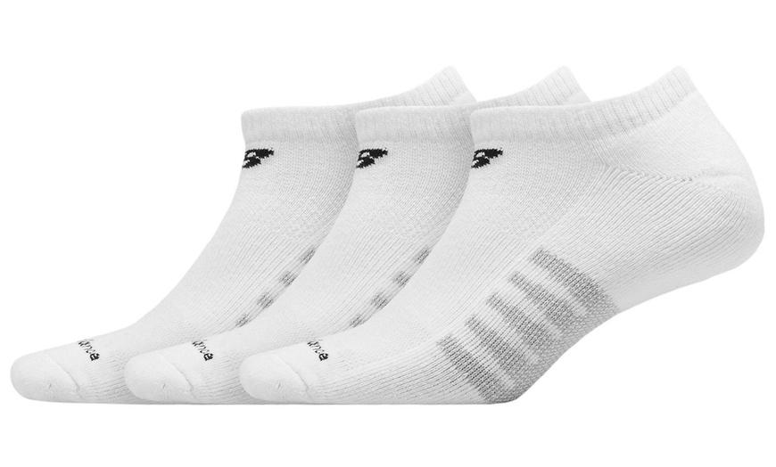 new balance white socks
