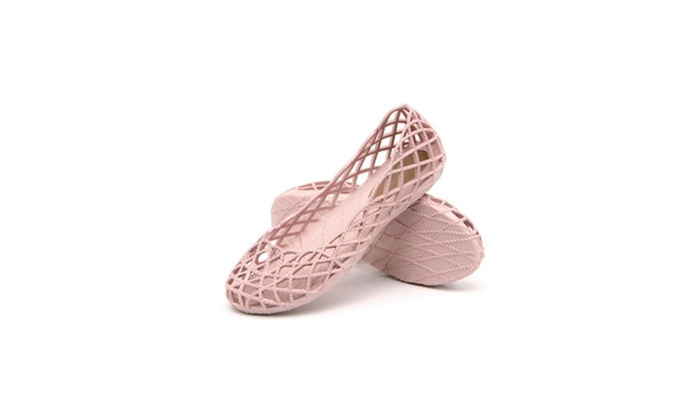 Womens Sandals Flat Jelly Shoes Slip On Hollow Out Loafers